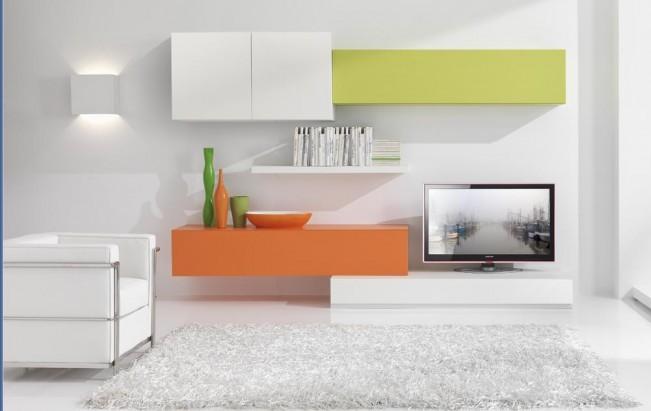 Immagine 8 34 soggiorni moderni moduli for Componenti d arredo moderni